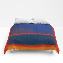 Rothko Inspired #7 Comforters