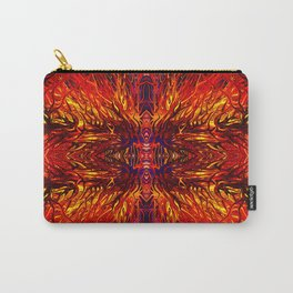 Molten Firegrass by Chris Sparks Carry-All Pouch