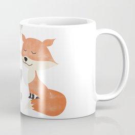 Loving Fox Couple - I love you - Happy Valentines Day Coffee Mug