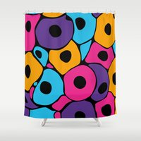 spawn Shower Curtains featuring A new start in lives 3 by S.Y.Hong
