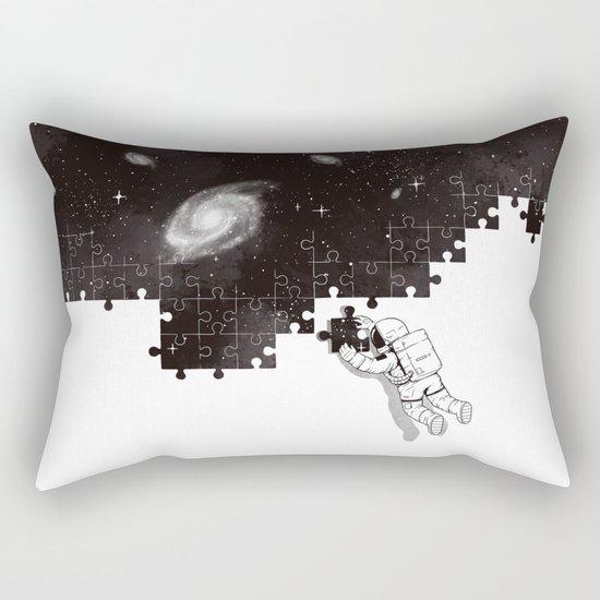 SOLVING THE BIG PUZZLE Rectangular Pillow