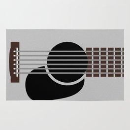 Minimalist Guitar Rug