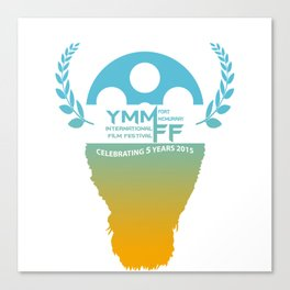 YMMiFF 2015 - BUFFALO HEAD DESIGN Canvas Print
