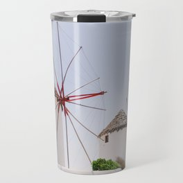 Mykonos windmills Travel Mug