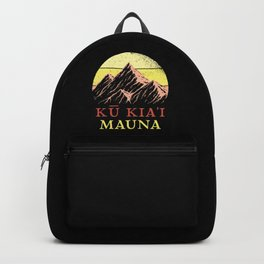 Mauna Kea Protect Hawaii Backpack