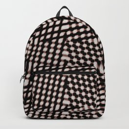 Checked Backpack