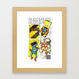 AUSS & AUSS - SEASON 1: THE GIFT - BOOM! Framed Art Print
