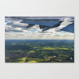Leaving in search of Adventure Canvas Print