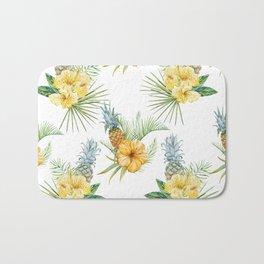 Pineapple Pattern 01 Bath Mat