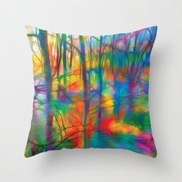 Daybreak Throw Pillow