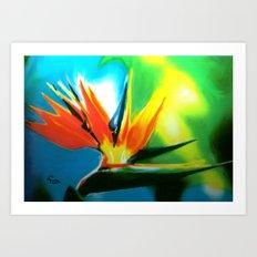 FLAIR Art Print