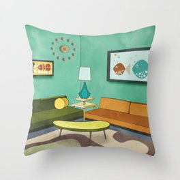 The Room 1962 Throw Pillow