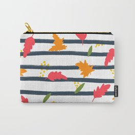 Fall Pattern Carry-All Pouch