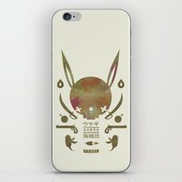 pirates iPhone & iPod Skins featuring 토끼해적단 TOKKI PIRATES by PAUL PiERROt