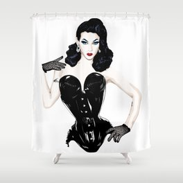Violet Chachki, RuPaul' Drag Race Queen Shower Curtain