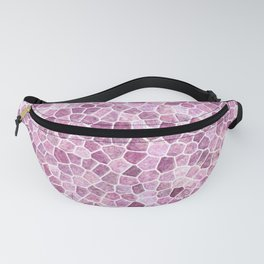 Pale Pink Cobbled Patchwork Fanny Pack
