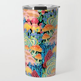 Fungi World (Mushroom world) - BKBG Travel Mug