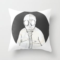 End of the world dude Throw Pillow