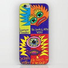 Cyclops Monster :-) iPhone & iPod Skin