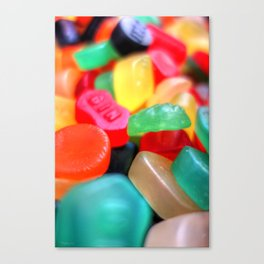 Sweets 02 - Wine Gums | GIN Canvas Print