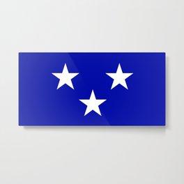 Moray county flag Metal Print