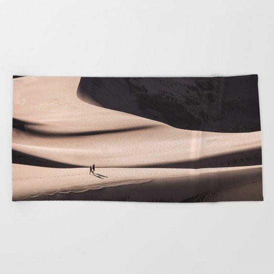 desert dune 2  Beach Towel