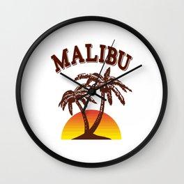 Malibu rum Wall Clock