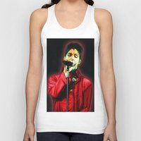 prince Tank Tops featuring Prince by JR van Kampen