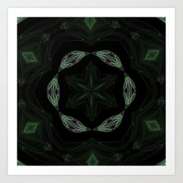 Kaleidoscope 'RK2 SQ' Art Print