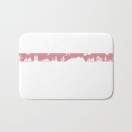 Find your angle_Travel_MonoPink Bath Mat