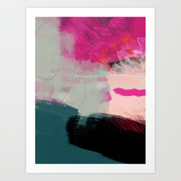 new abstract 1 Art Print