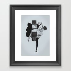Wisconsin Avenue Framed Art Print