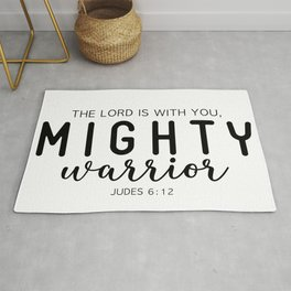 Mighty Warrior, Christian Rug