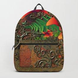 Wonderful flowers Backpack