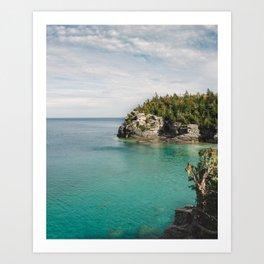 Bruce Peninsula in October Art Print