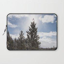 Gardners Hole, Yellowstone National Park Laptop Sleeve