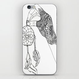 Catching Dreams iPhone Skin
