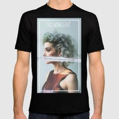 St. Vincent - Annie Clark SMALL Mens Fitted Tee Black
