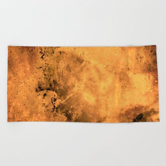 μ Garnet Star Beach Towel