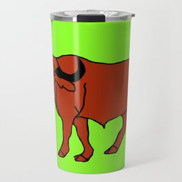 The Imposing Water Buffalo Travel Mug