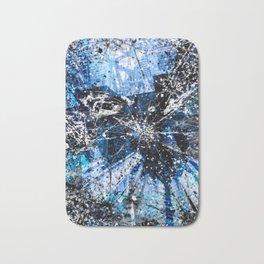 Broken blue by Brian Vegas Bath Mat