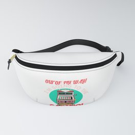 Gambling Fun Out Of My Way I'm Going to the Casino! Fanny Pack