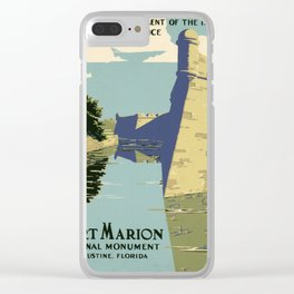 Fort Marion National Monument, St. Augustine, Florida Clear iPhone Case