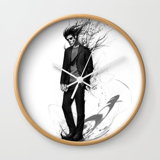 waiting for my valentine Wall Clock