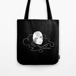 Doll Face Blackie Tote Bag