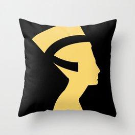 -BEQUEEN IN GOLD Throw Pillow