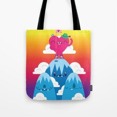 Love on Top Tote Bag