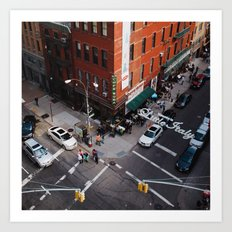 Little Italy From Above Art Print