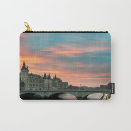 Paris by night France Carry-All Pouch