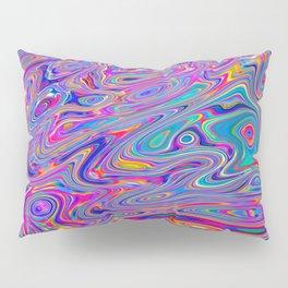 Neon melt Pillow Sham